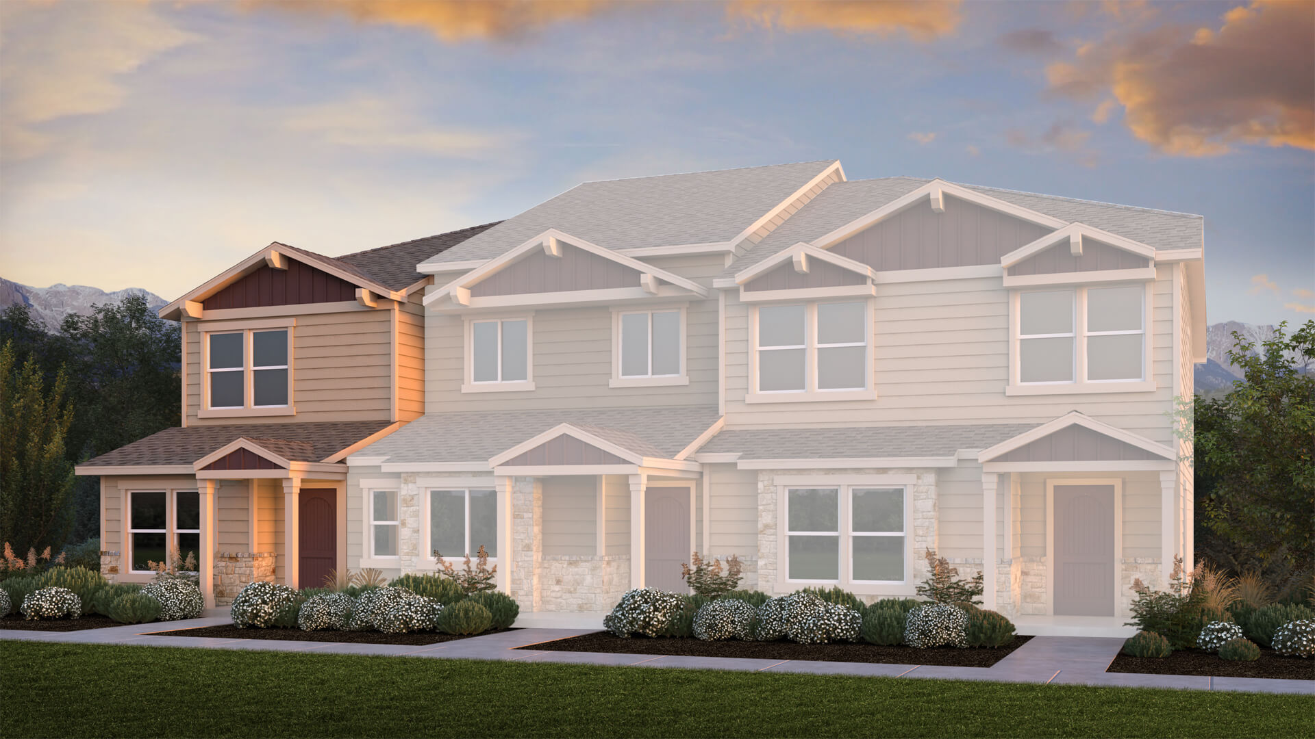 New townhomes in Colorado Springs